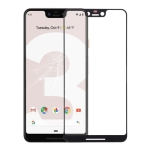 Front Screen Outer Glass Lens for Google Pixel 3 XL (Black)