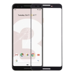 Front Screen Outer Glass Lens for Google Pixel 3 (Black)