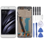 LCD Screen and Digitizer Full Assembly with Frame for Xiaomi Mi 6 (White)
