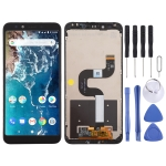 LCD Screen and Digitizer Full Assembly with Frame for Xiaomi Mi 6X (Black)