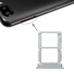 Silver SIM Card Tray + SIM Card Tray for OnePlus 5T A5010