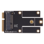 M.2 NGFF Key A to Mini PCI-E PCI Express Converter Adapter for Intel 9260 8265 7260 AC NGFF Wifi Bluetooth Wireless Card