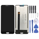 LCD Screen and Digitizer Full Assembly for Blackview BV9600 Pro (Black)