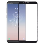 Front Screen Outer Glass Lens for Galaxy A8 Star (A9 Star) (Black)