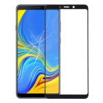 Front Screen Outer Glass Lens for Galaxy A9 (2018) / A9s (Black)