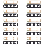 10 PCS Back Camera Lens & Adhesive for Galaxy S10
