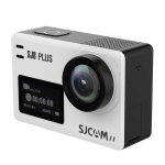 SJCAM SJ8 Plus 4K 2.33 inch Touch Screen 12 MP WiFi Sports Camcorder with Waterproof Case,  Novatek NT96683, 170 Degrees Wide Angle Lens, 30m Waterproof (White)