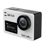 SJCAM SJ8 Plus 4K 2.33 inch Touch Screen 12 MP WiFi Sports Camcorder with Waterproof Case,  Novatek NT96683, 170 Degrees Wide Angle Lens, 30m Waterproof (White)