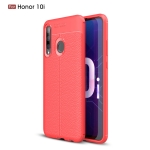 Litchi Texture TPU Shockproof Case for Huawei Honor 10i(Red)