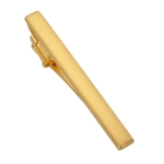 Matte Smooth Tie Clip Clasp(Gold)