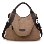 Simple Women Bag Large Capacity Bag Travel Hand Bags for Women Female Handbag Designers Shoulder Bag(coffee)