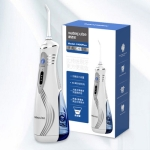 Waterpulse V400 Rechargeable Portable Dental Cordless Oral Irrigator with Travel Case, Version:Chinese