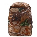 Waterproof Dustproof Backpack Rain Cover Portable Ultralight Outdoor Tools Hiking Protective Cover 50-60L(Forest Camouflage)