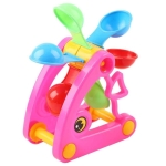 2PCS Windmill Waterwheel Summer Water Swimming Pool Bathing Beach Sand Digging Tools Kids Toys