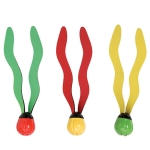 Beach Toy Non-toxic Kids Underwater Toy Grab Dive Seaweed Grass Swimming Pool Water Diving Toy(Seaweed)