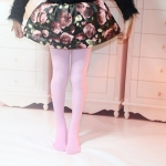 Spring Summer Autumn Solid Color Pantyhose Ballet Dance Tights for Kids, Size:XL(Pink)