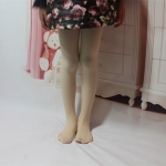 Spring Summer Autumn Solid Color Pantyhose Ballet Dance Tights for Kids, Size:XL(Flesh Color)