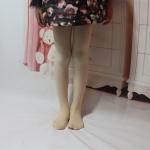 Spring Summer Autumn Solid Color Pantyhose Ballet Dance Tights for Kids, Size:XL(Flesh Color)