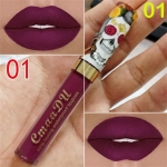 Makeup Matte Liquid Lipstick Waterproof Long Lasting Sexy Glitter Style Lip Gloss Cosmetics(01)