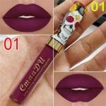 Makeup Matte Liquid Lipstick Waterproof Long Lasting Sexy Glitter Style Lip Gloss Cosmetics(01)