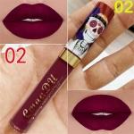 Makeup Matte Liquid Lipstick Waterproof Long Lasting Sexy Glitter Style Lip Gloss Cosmetics(02)