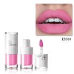 Liquid Matte Lipstick Waterproof Red Lip Makeup Long Lasting Lip Tint(E506)