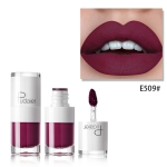Liquid Matte Lipstick Waterproof Red Lip Makeup Long Lasting Lip Tint(E509)