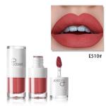 Liquid Matte Lipstick Waterproof Red Lip Makeup Long Lasting Lip Tint(E510)