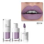 Liquid Matte Lipstick Waterproof Red Lip Makeup Long Lasting Lip Tint(E511)