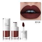 Liquid Matte Lipstick Waterproof Red Lip Makeup Long Lasting Lip Tint(E512)