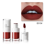 Liquid Matte Lipstick Waterproof Red Lip Makeup Long Lasting Lip Tint(E515)