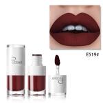 Liquid Matte Lipstick Waterproof Red Lip Makeup Long Lasting Lip Tint(E519)