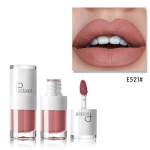 Liquid Matte Lipstick Waterproof Red Lip Makeup Long Lasting Lip Tint(E521)
