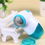 2 PCS Portable Electric Lint Removers Lint Fabric Remover For Fabric Sweater Clothes Shaver Household Remove Machine(Blue)