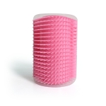 Pet Dogs Cat Self Groomer Hair Removal Comb  Brush Hair Shedding Trimming Massage Device, Color:Pink