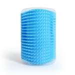 Pet Dogs Cat Self Groomer Hair Removal Comb  Brush Hair Shedding Trimming Massage Device, Color:Sky Blue
