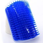 Pet Dogs Cat Self Groomer Hair Removal Comb  Brush Hair Shedding Trimming Massage Device, Color:Blue
