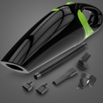 Wireless Car Vacuum Cleaner Handheld Mini Vacuum Cleaner Super Suction Wet And Dry Dual Use Portable Vacuum Cleaner(Black+Green)