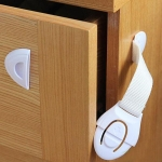 10 PCS Cabinet Door Lock Kids Drawer Locker Security Invisible Locks for Home Storage Child Lock Baby Safety Cabinet Lock