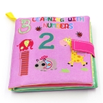 Baby Toys Infant Educational Soft Cloth Books(Number)