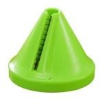 Kitchen Funnel Model Spiral Slicer Vegetable Shred Carrot Cutter(Green)