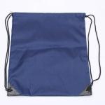 10 PCS Outdoor Drawstring Backpacks Nylon Drawing String Design Bag(Dark Blue)