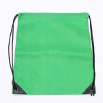 10 PCS Outdoor Drawstring Backpacks Nylon Drawing String Design Bag(Green)