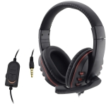 Wired Headphone 3.5mm Gaming Music Microphone For PS4 Play Station 4 Game PC Chat