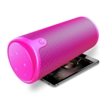 ZEALOT S8 3D Stereo Bluetooth Speaker Wireless Subwoofer Column Portable Touch Control AUX TF Card Playback Handsfree with Mic(Pink)