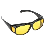 Night Vision Driver Goggles Unisex HD Vision Sun Glasses Car Driving Glasses UV Protection Polarized Sunglasses(yellow Night vision)
