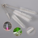 2 PCS Stainless Steel Wash Pipe Straw Brush Cleaner