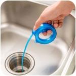 Kitchen Snake Shape Sink Tub Pine Drain Bathroom Shower Toliet Hair Cleaner