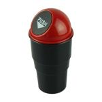 Universal Car Trash Bin Car Garbage Can Rubbish Dust Case Holder Bin Automobile Storage Bucket(Red)