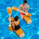 Inflatable Water-to-water Collision Suit Water Sports Toys Games Equipment, Size: 110x20cm